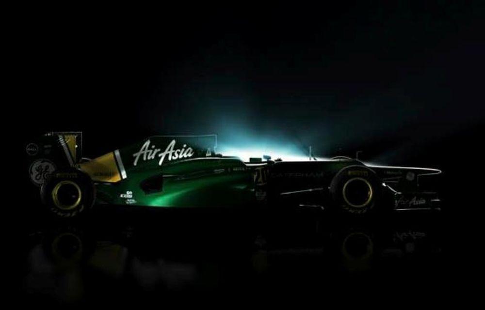 Η πρώτη εικόνα της Caterham F1