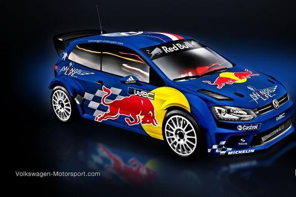 WRC: Τα χρώματα του VW Polo R