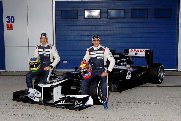 Παρουσιάστηκε η Williams-Renault FW-34