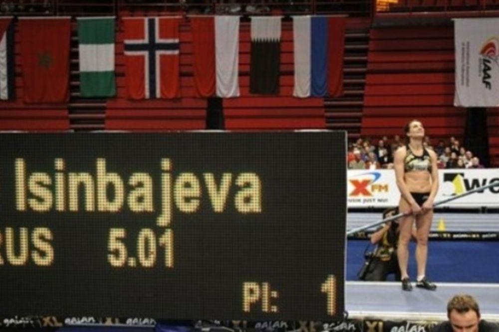 Νέο παγκόσμιο ρεκόρ για Ισιμπάγεβα