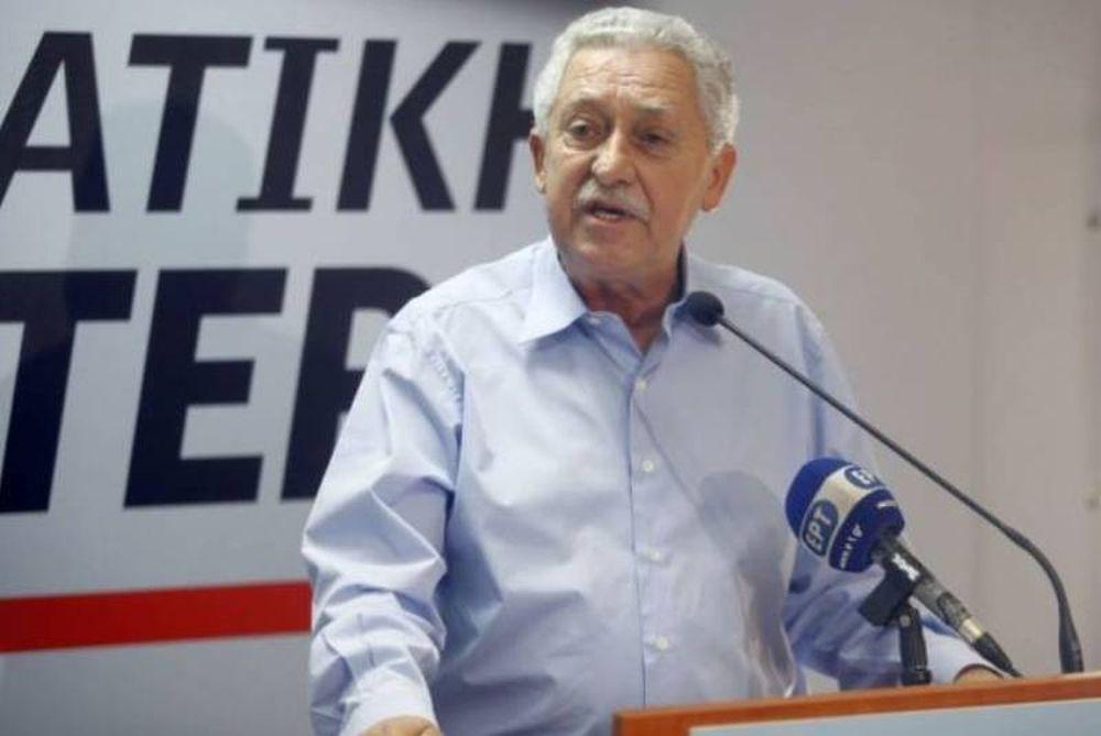 Αποκλείει συνεργασία με ΠΑΣΟΚ-ΝΔ ο Κουβέλης