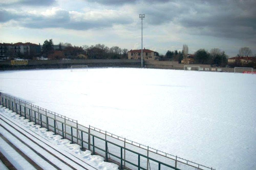 Χιονισμένο τοπίο στην Αρναία