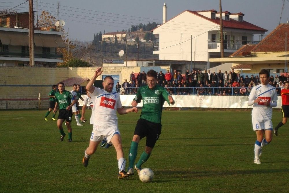 Αμπελωνιακός – Ελασσόνα 1-0