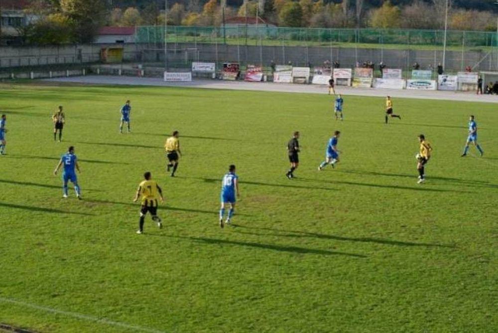 Καμένα Βούρλα - Α.Ε. Μουζακίου 0-2