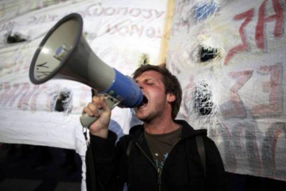 Ελληνική διαμαρτυρία στη Ρώμη