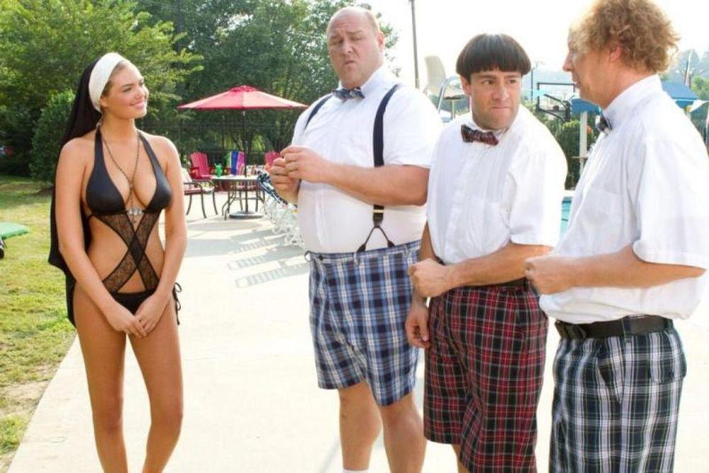 Η Κέιτ Άπτον καλόγρια στην ταινία The Three Stooges!