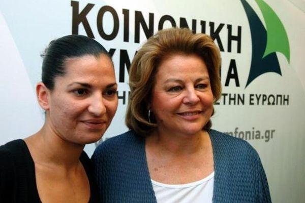 Η αρχηγός του Ολυμπιακού Σταυρούλα Αντωνάκου στην πολιτική