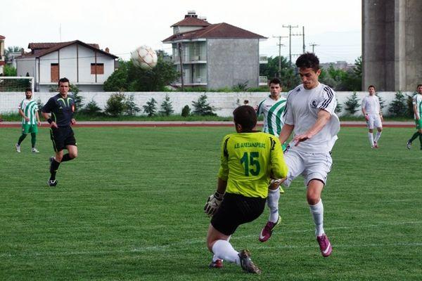 Αλεξάνδρεια-Περδίκκας 1-2