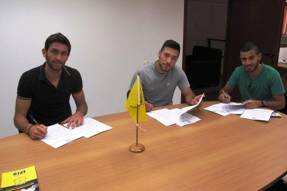 Εργοτέλης: Επαγγελματίες οι Πρωτογεράκης, Κοζορώνης και Δωματάς