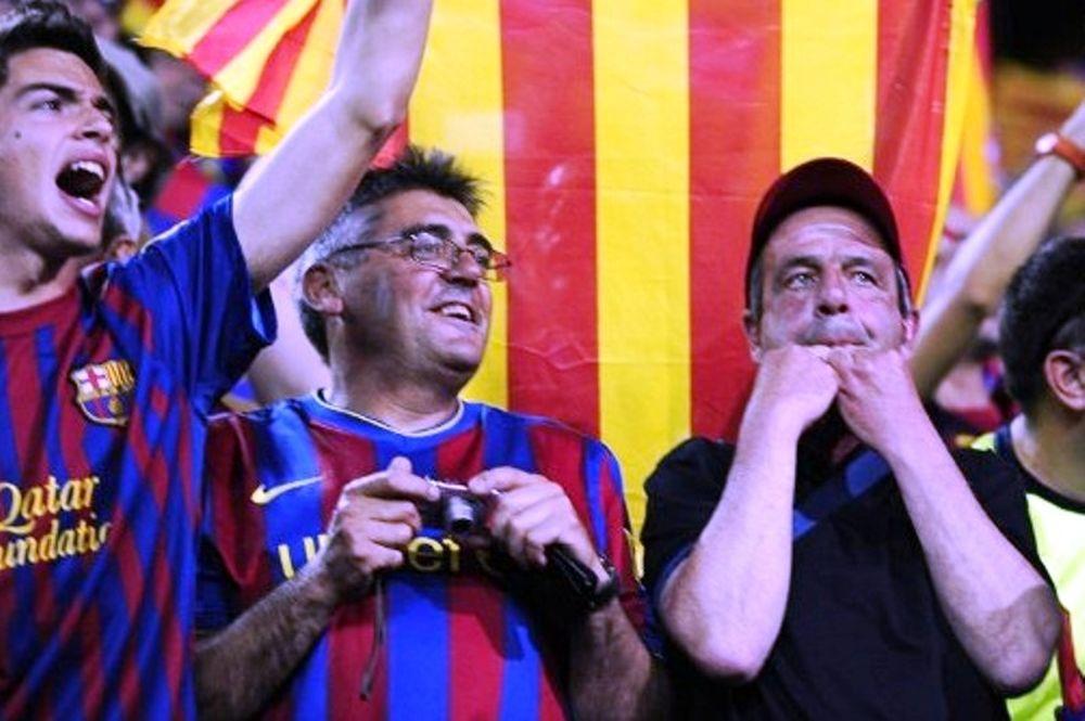 Κράξιμο κατά τη διάρκεια του ύμνου της Ισπανίας