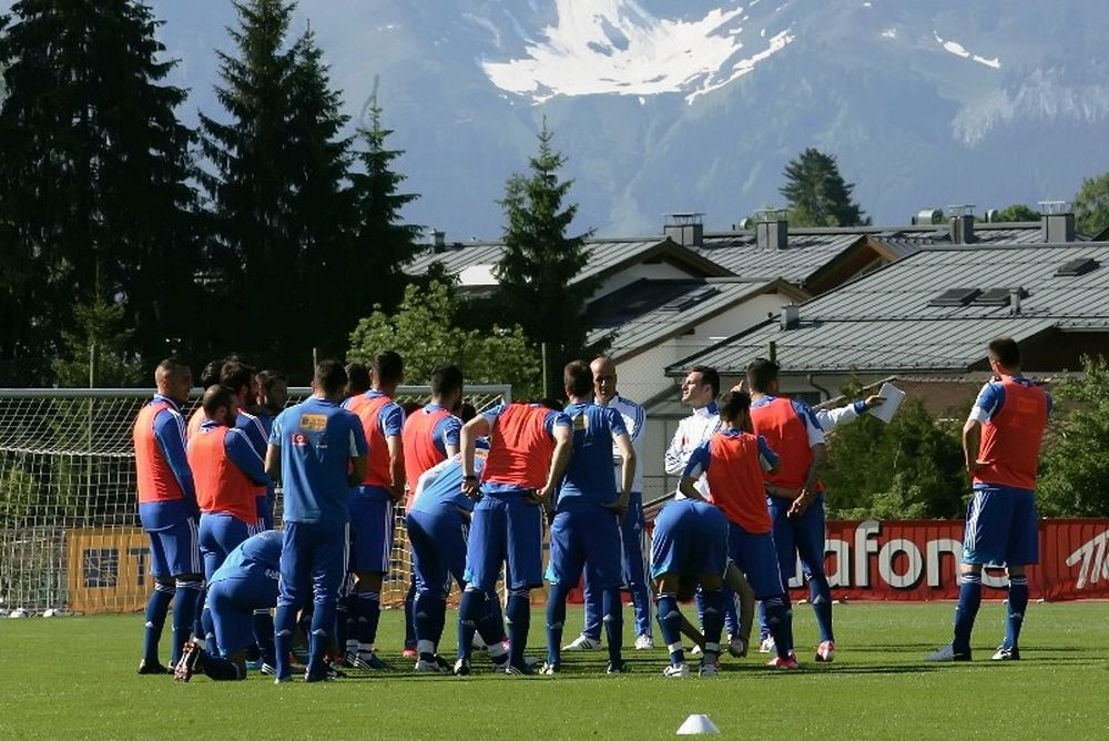 Euro 2012: Οι οδηγίες του Σάντος στους Έλληνες διεθνείς