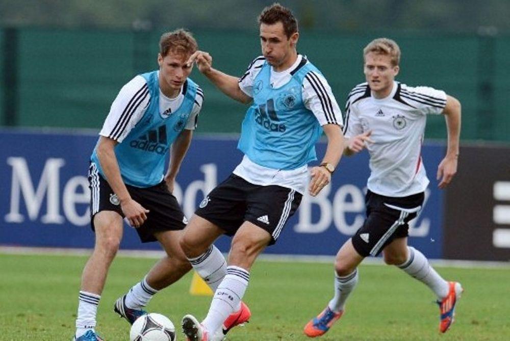 Euro 2012: Κλόζε: «Θα βοηθήσει την Γερμανία η ήττα της Μπάγερν»