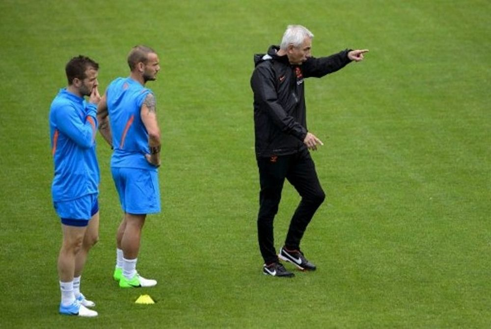Euro 2012: Συμβούλεψε τον Μάχερ ο Φαν ντερ Φάαρτ!