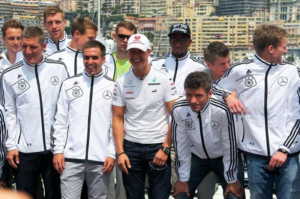 Euro 2012: Είδαν το Grand Prix οι Γερμανοί (photos)