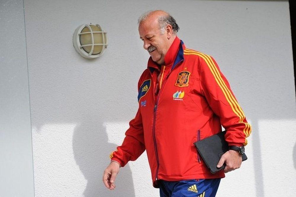 Euro 2012: Χαμηλοί τόνοι από Ντελ Μπόσκε