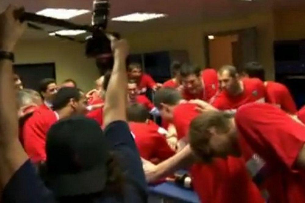 Οι πανηγυρισμοί της ΤΣΣΚΑ για το ρωσικό πρωτάθλημα (video)