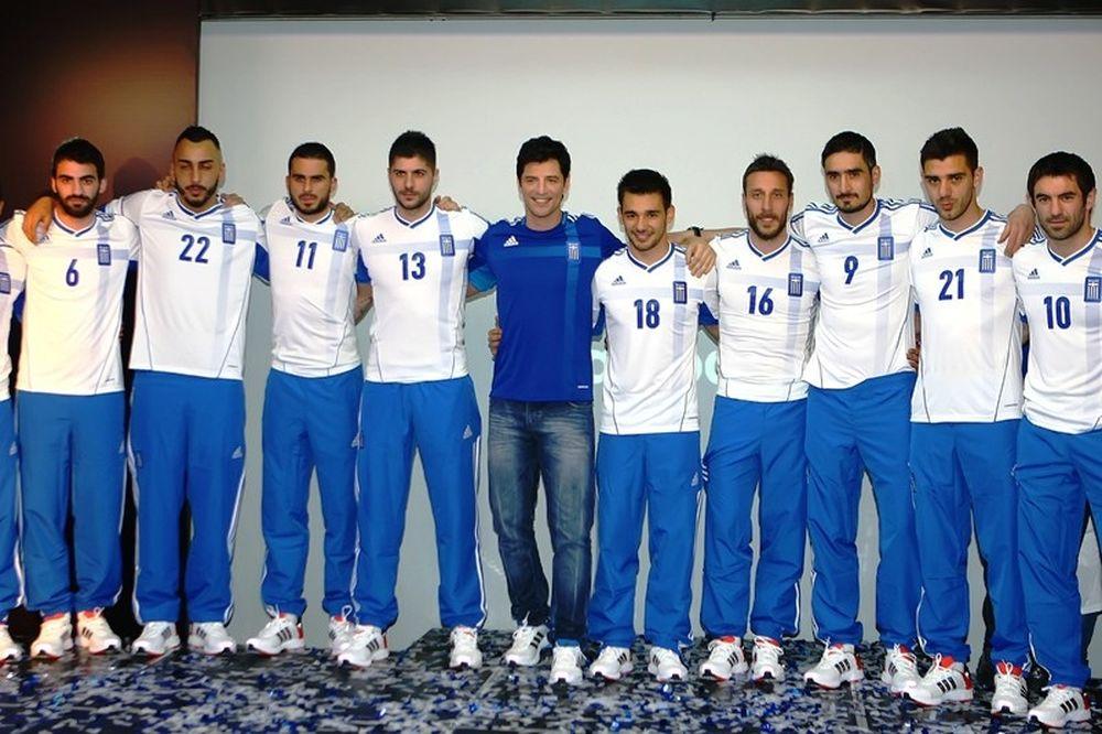 Euro 2012: Επέλεξαν νούμερα οι Έλληνες διεθνείς