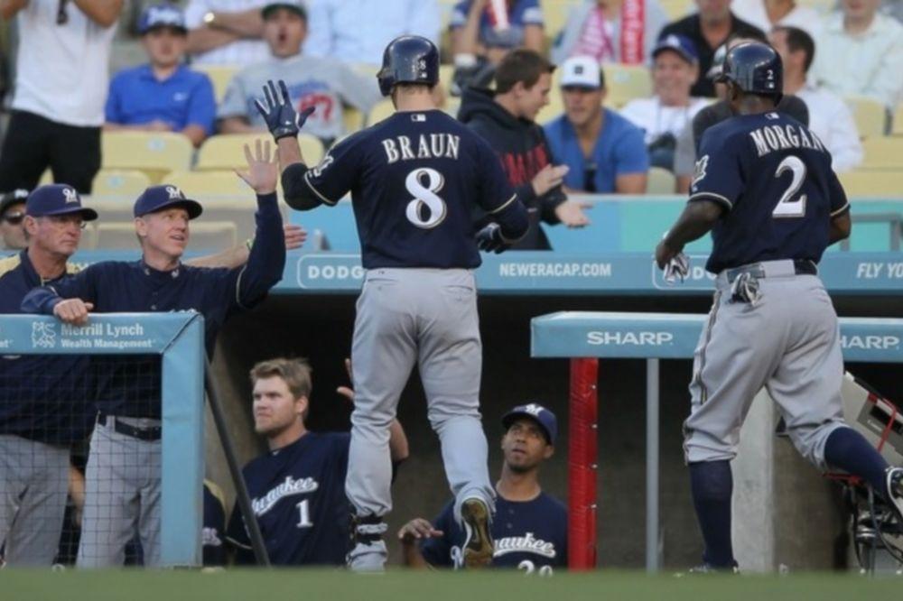 Με διπλό home run του Ryan Braun οι Μιλγουόκι Μπρούερς