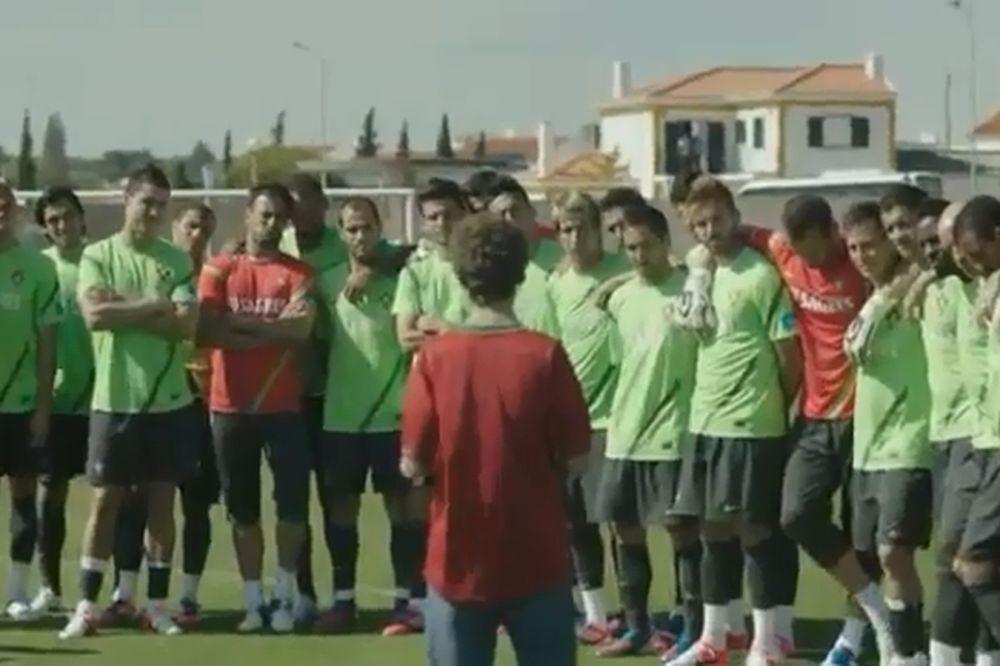 Euro 2012: Πορτογαλία: Σύνθημα... νίκης από έναν 14χρονο! (video)