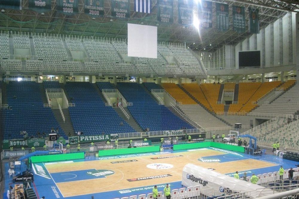 Έτοιμο το ΟΑΚΑ για τον τέταρτο τελικό (photos)