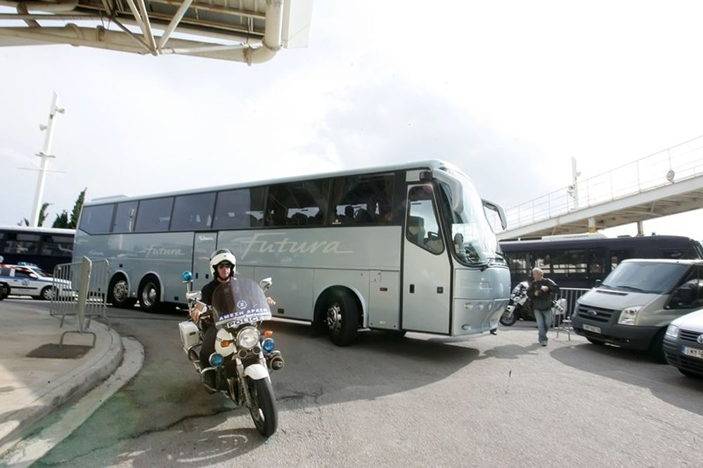 Ολυμπιακός: Κανένα πρόβλημα για την αποστολή (photos)