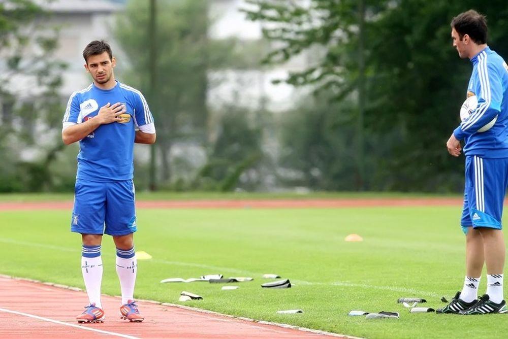 Euro 2012: Αποχώρησε και πάλι ο Νίνης (video)