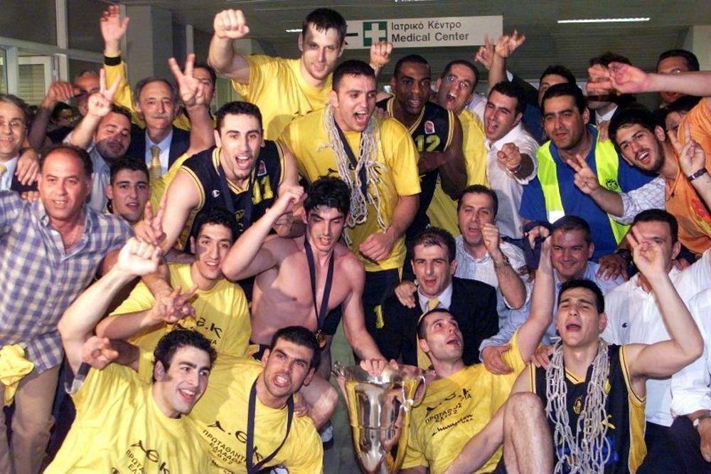 Πριν δέκα χρόνια η ΑΕΚ ήταν πρωταθλήτρια (photos+video)