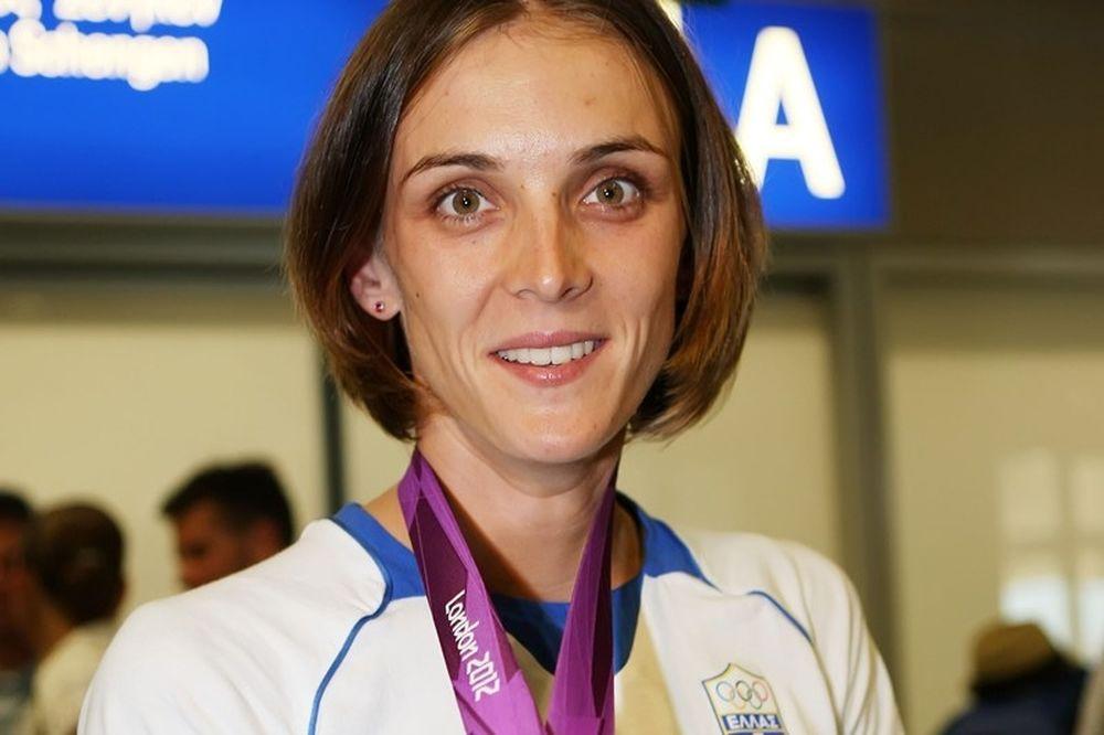 Χρυσό μετάλλιο η Τσιάβου στο μονό σκιφ ελαφρών βαρών
