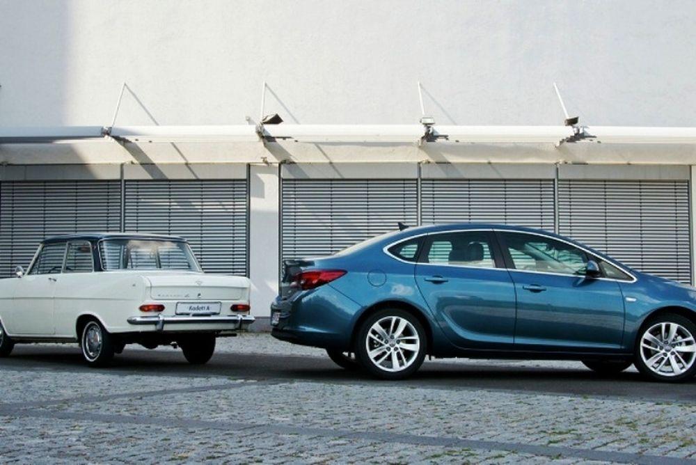 Opel: 50 χρόνια compact sedan μοντέλα