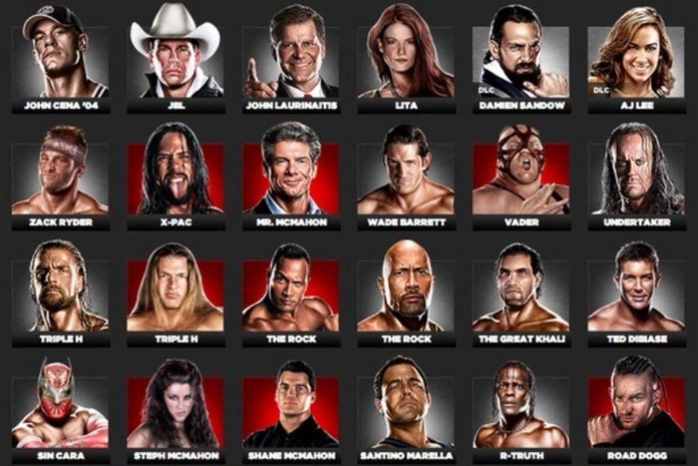 Το επίσημο ρόστερ του «WWE '13» (video)