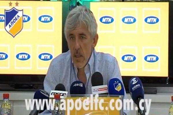 Γιοβάνοβιτς: «Μακάρι να είχε κάθε χρόνο... Αΐλτον ο ΑΠΟΕΛ!» (video)