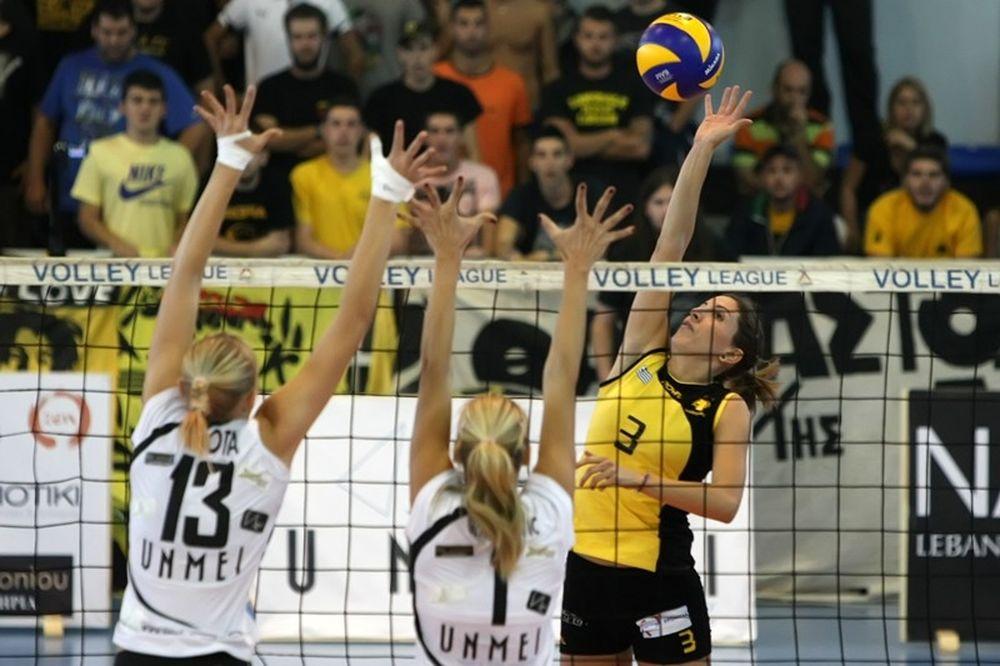 Α1 βόλεϊ γυναικών: Η Τοτσίδου MVP της δεύτερης αγωνιστικής