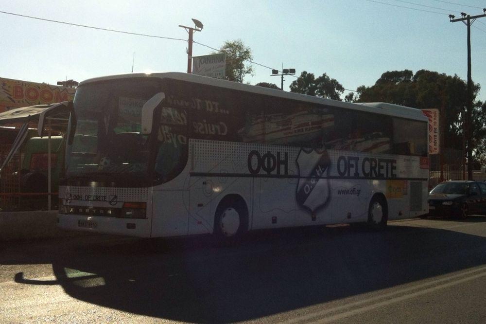 ΟΦΗ: Επίθεση με μολότοφ στο λεωφορείο