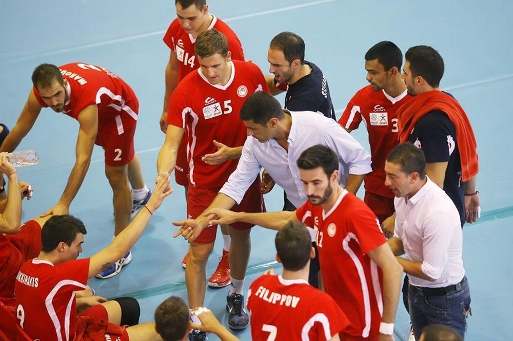 Ολυμπιακός-Καζάζης: «Έτοιμοι για ακόμη μία νίκη»