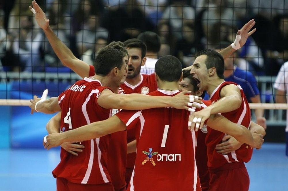 VolleyLeague: Κανένα… εμπόδιο για Ολυμπιακό και Εθνικό