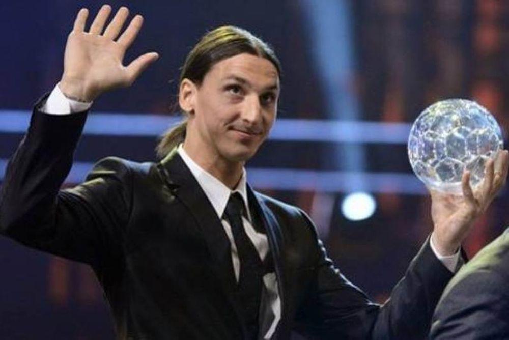 Στον Ιμπραΐμοβιτς η Χρυσή Μπάλα της Σουηδίας! (photos+video)