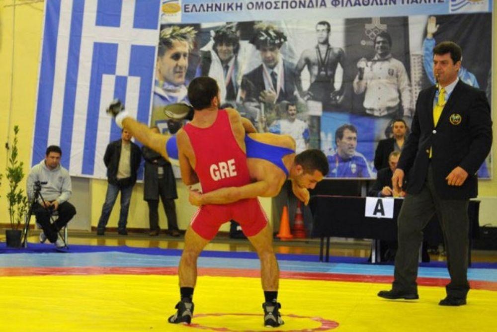 Πανελλήνιο Πρωτάθλημα Πάλης Ανδρών - Γυναικών: Υψηλός ανταγωνισμός (photos)