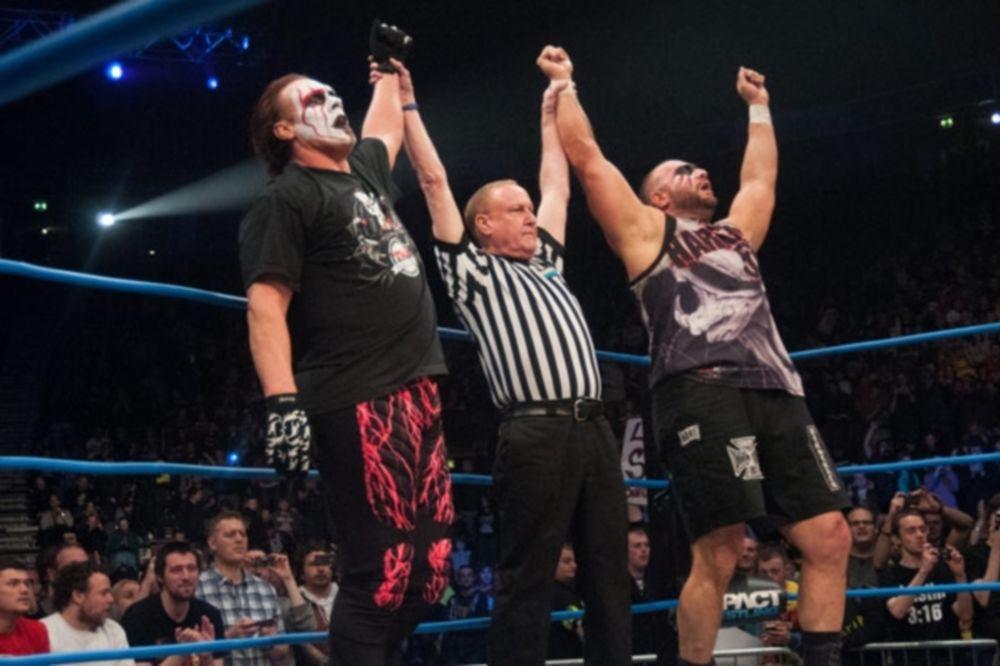TNA Impact Wrestling: Βρετανικό… τραπέζι (videos+photos)