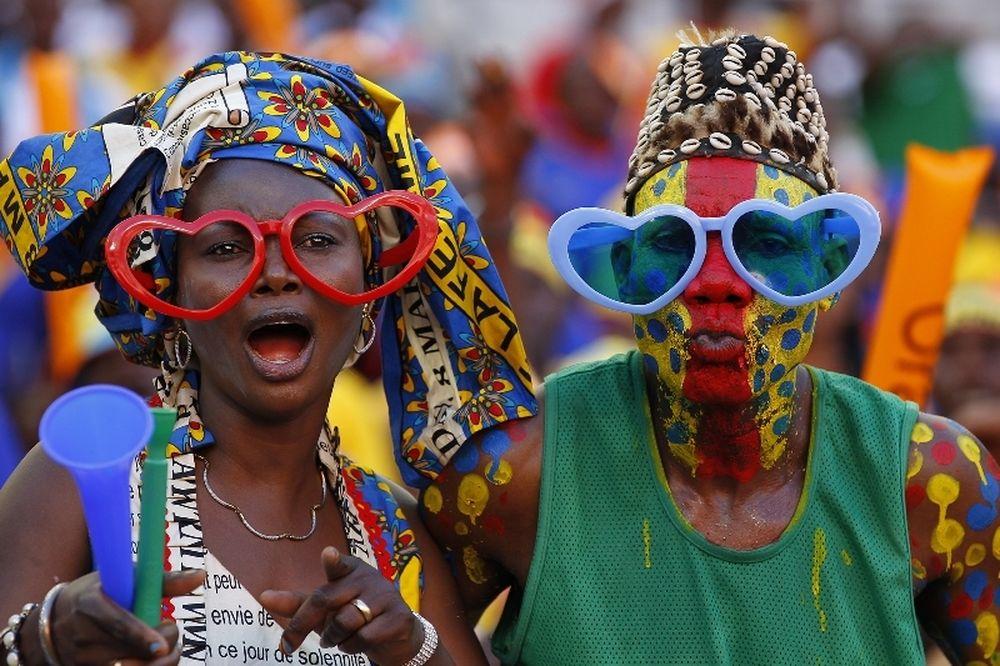 Κόπα Άφρικα: Το... show των οπαδών (video)