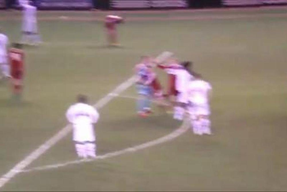 Μίντλεσμπρο: Παίκτης αγκάλιασε και... σήκωσε το διαιτητή! (video)