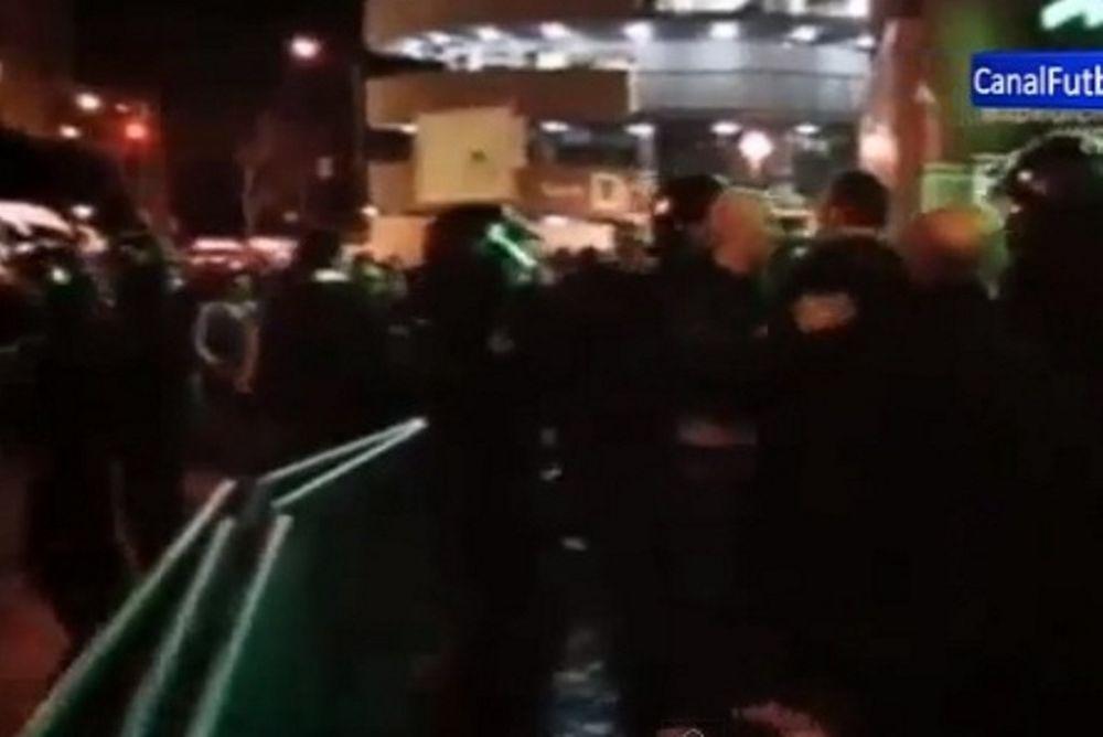 Μάντσεστερ Γιουνάιτεντ: Χαμός έξω από το Μπερναμπέου! (video)