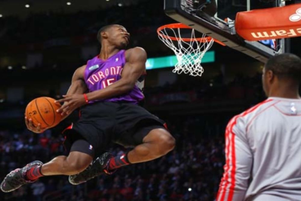 NBA All Star Game: Ντύθηκε… Βινς Κάρτερ ο Ρος (photos+videos)