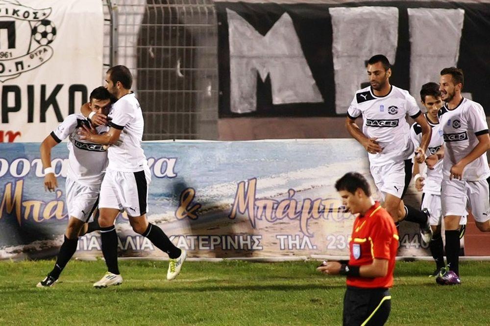 Νέα νίκη για Πιερικό, 1-0 τον Θρασύβουλο