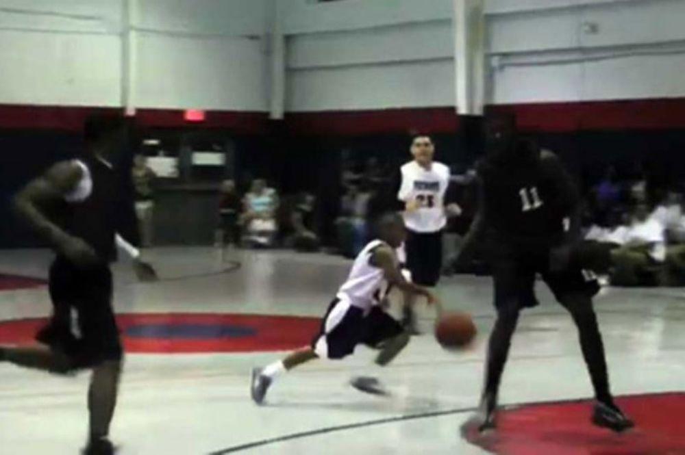 Ο 11χρονος μπασκετμπολίστας που κάνει θαύματα (video)