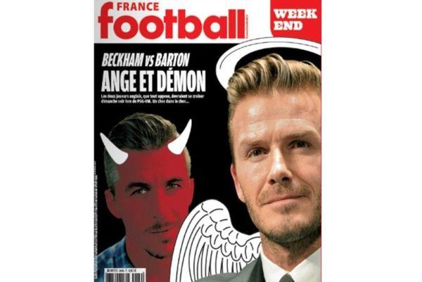 Παρί Σεν Ζερμέν: «Άγγελος» ο Μπέκαμ, «διάβολος» ο Μπάρτον!