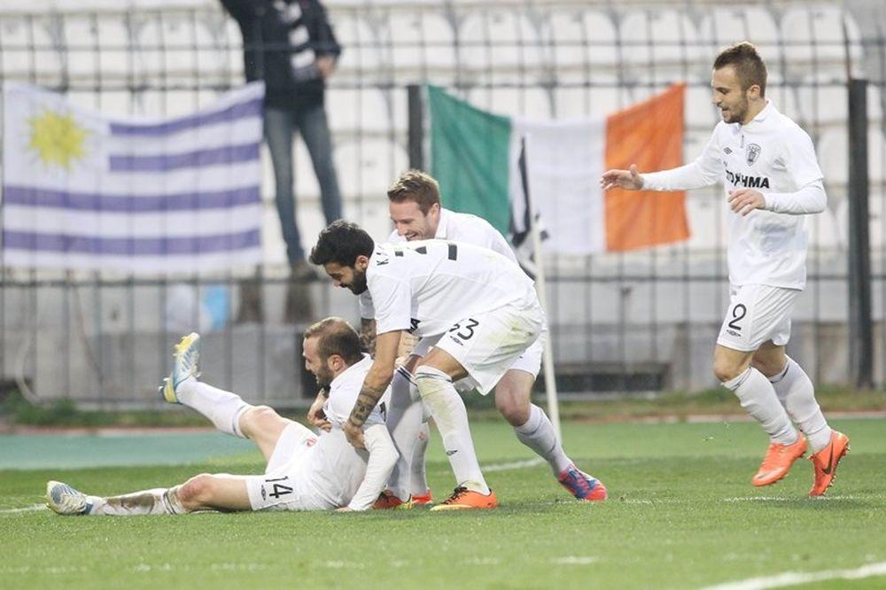 Με τη… δύναμη της Τούμπας και του… Σάλπι, 3-1 ο ΠΑΟΚ την Κέρκυρα (video)