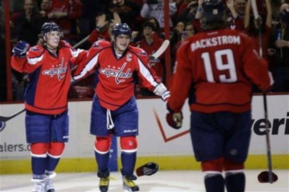 NHL: Χατ τρικ για Ovechkin (video)