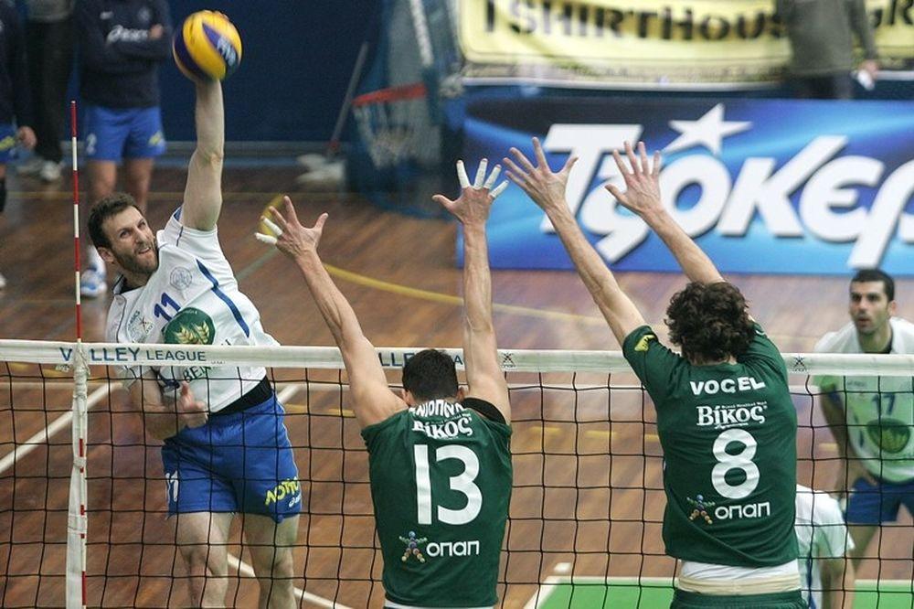Volleyleague: Τα αποτελέσματα της 19ης αγωνιστικής και η βαθμολογία