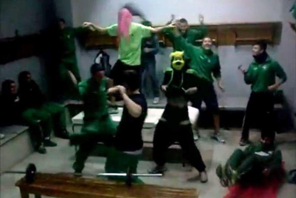 Το ζέσταμα του Αχαρναϊκού με... harlem shake! (video)