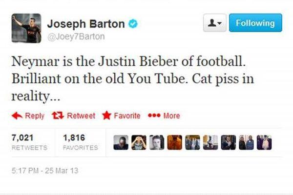 Μπάρτον: «Νεϊμάρ, ο… Τζάστιν Μπίμπερ του ποδοσφαίρου»